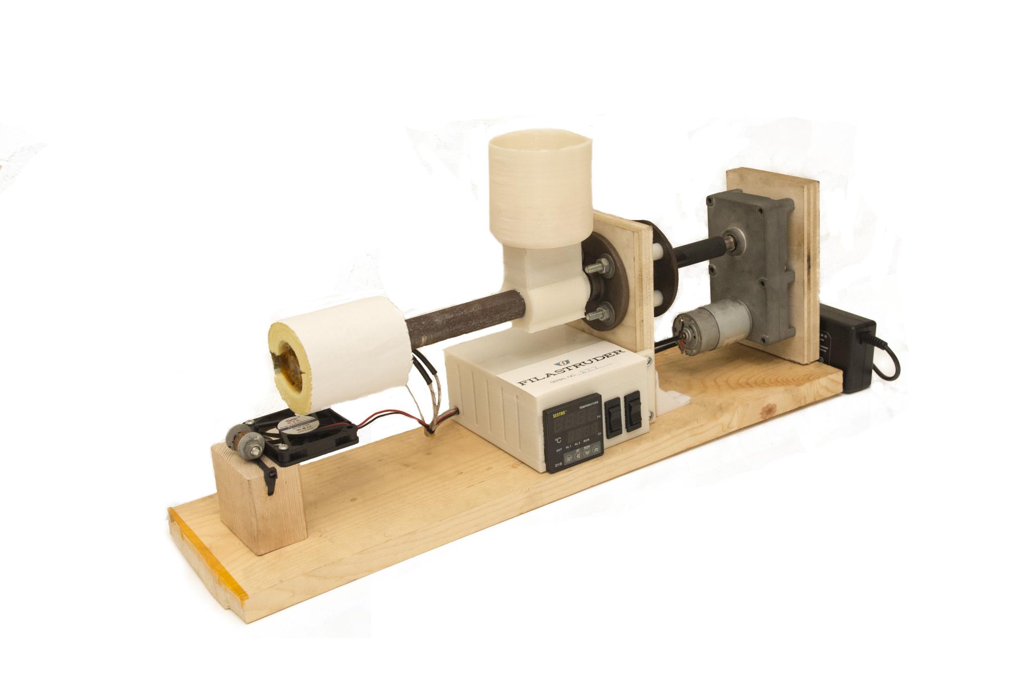 Fabrica tu filamento para impresoras 3d con filastruder for Videos de impresoras 3d