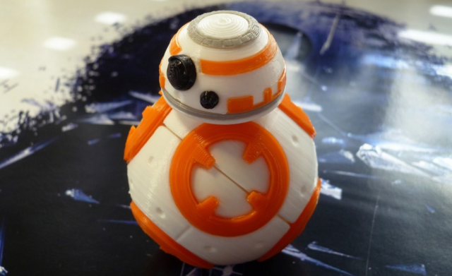 bb-8 star wars impresora 3d