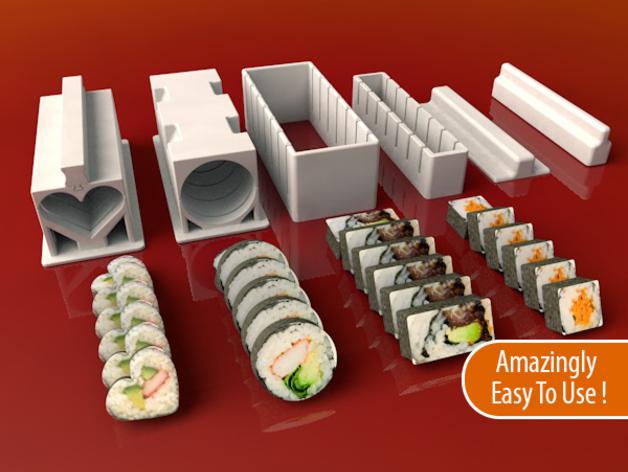 impresora 3d casa sushi