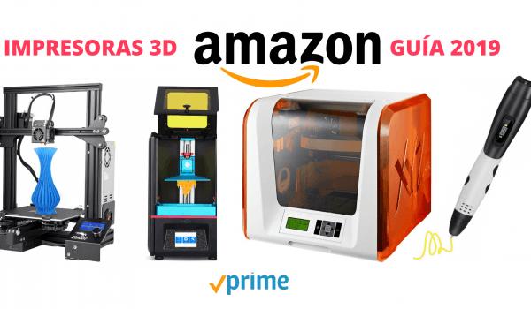 impresoras 3D en amazon
