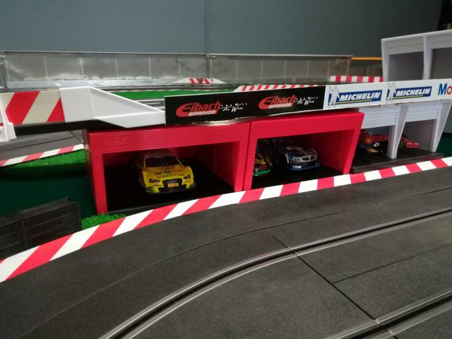 box f1 impresora 3D scalextric ninco slot