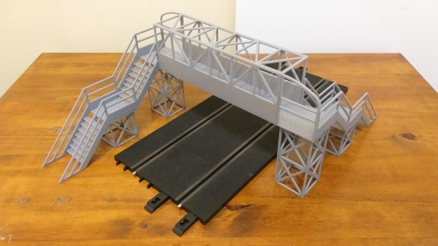 puente scalextric slot impresora 3d